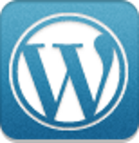 wordpress logo 200x205
